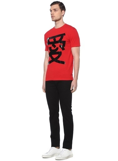 Dsquared2 Tişört Kırmızı